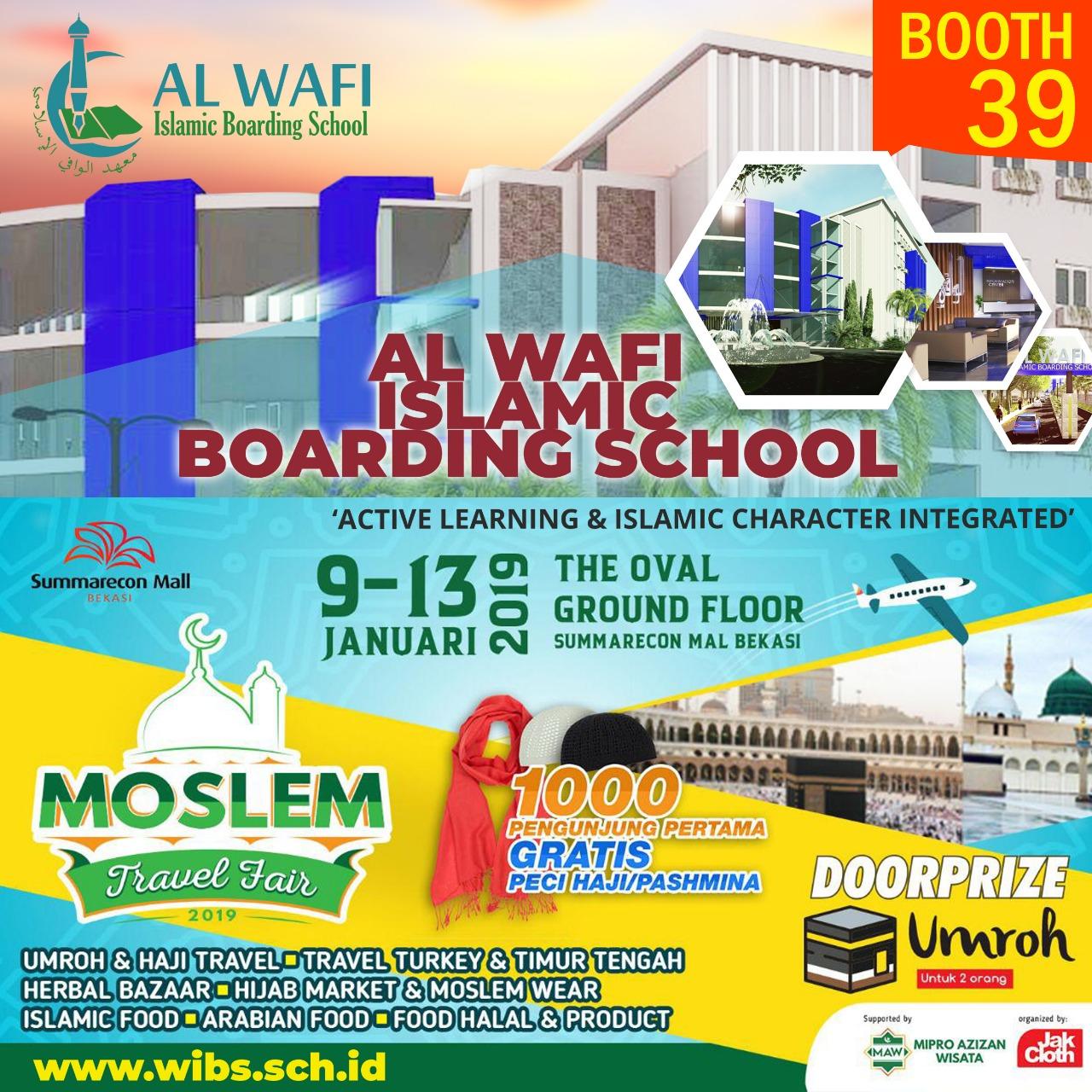 Pesantren Al Wafi Hadir di Moslem Travel Fair 2019 - Sumarecon Bekasi Mal